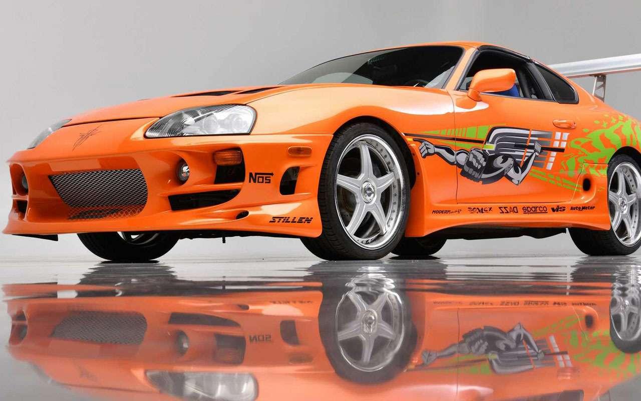 Toyota Supra из«Форсажа» выставляется наторги— фото 1248706
