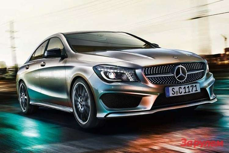 Mercedes-Benz CLA Sport side-front view