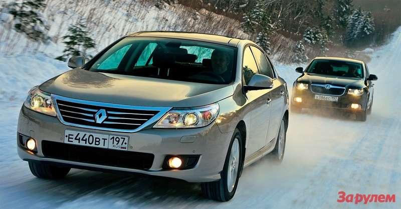 Renault Latitude, Skodа Superb