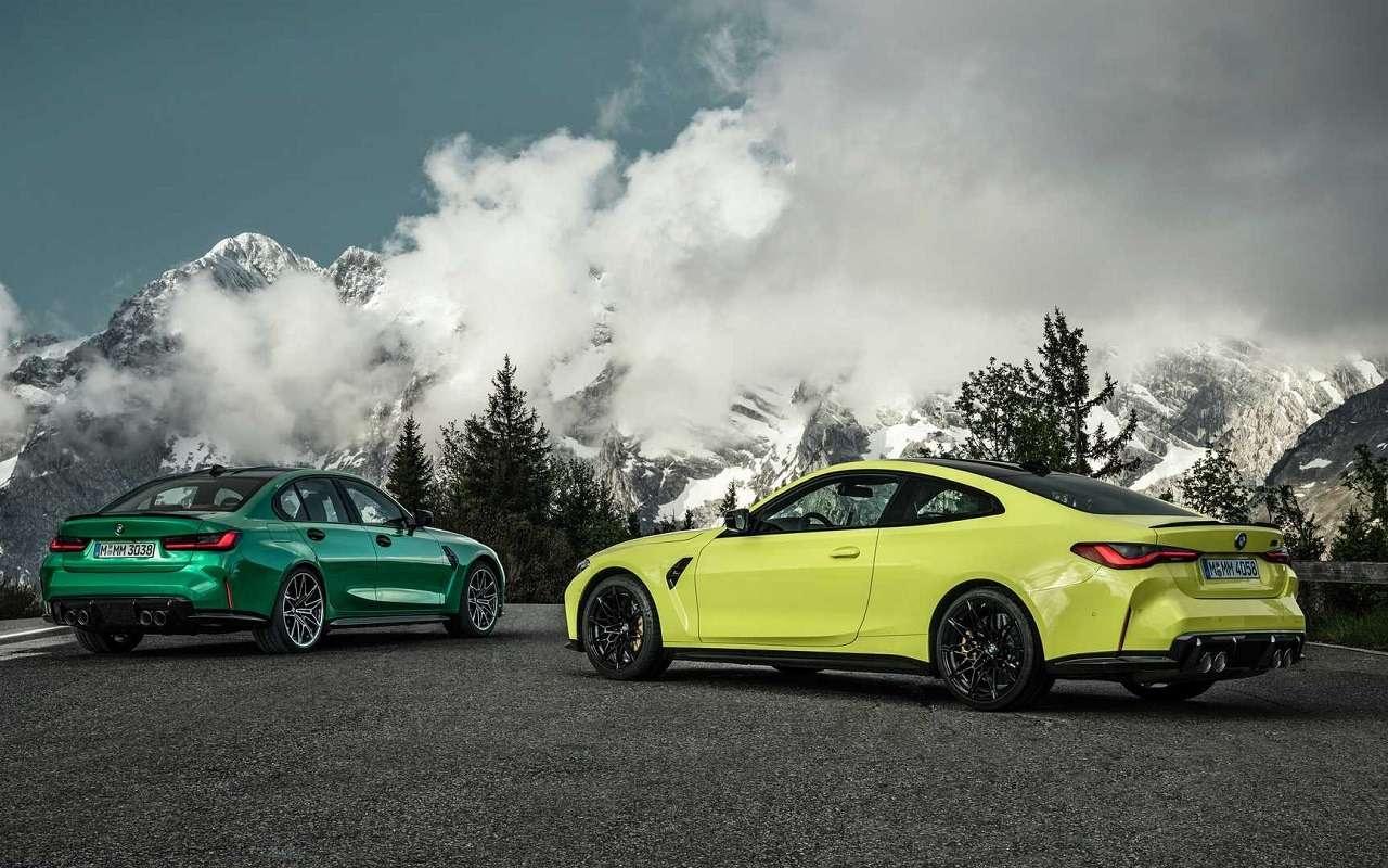 Новые BMW M3и M4и тюнинг дляних— фото 1170392