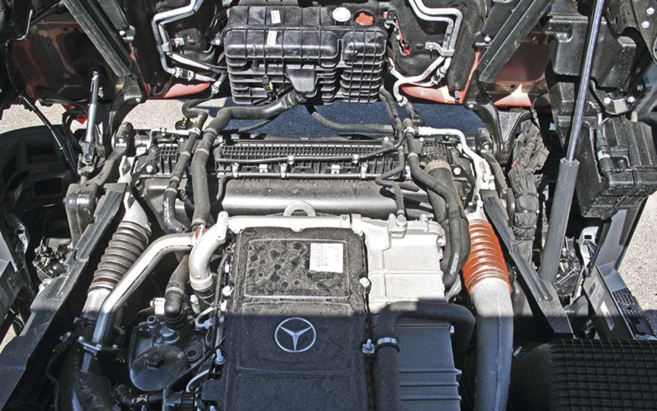 Mercedes Arocs российской сборки— детальный обзор— фото 1279163