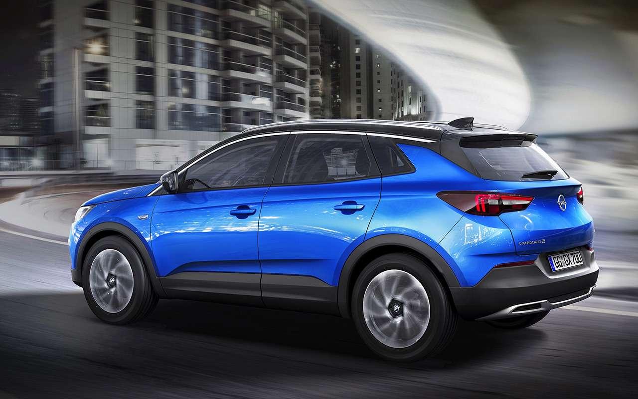 Opel начал продажи Zafira Life иGrandland X— цены известны— фото 1026043