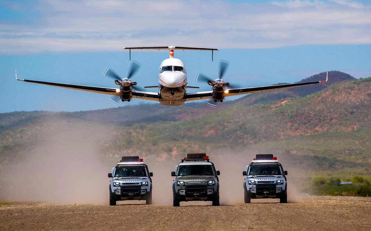 Land Rover Defender 2020: большой африканский тест— фото 1114521