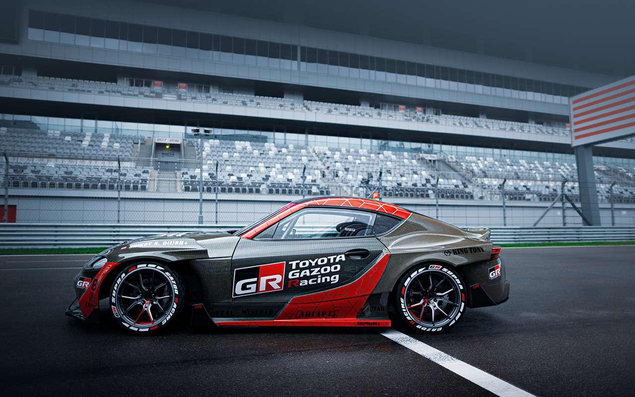 Toyota показала 1015-сильный спорткар Supra— фото 1217503