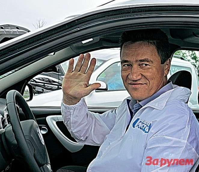 Михаил РЯБОВ, ведущий проекта «Автомобили наплатформе B0»