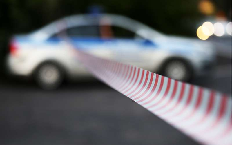 Мерседес въехал вхрам: зарулем был полицейский