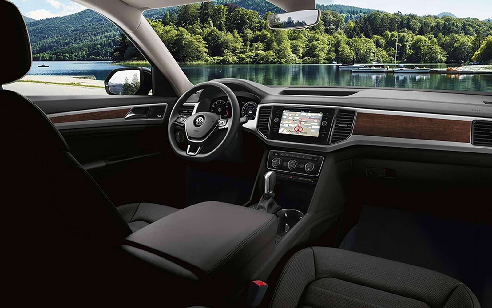Volkswagen Teramont: оноказался дешевле конкурентов— фото 852964