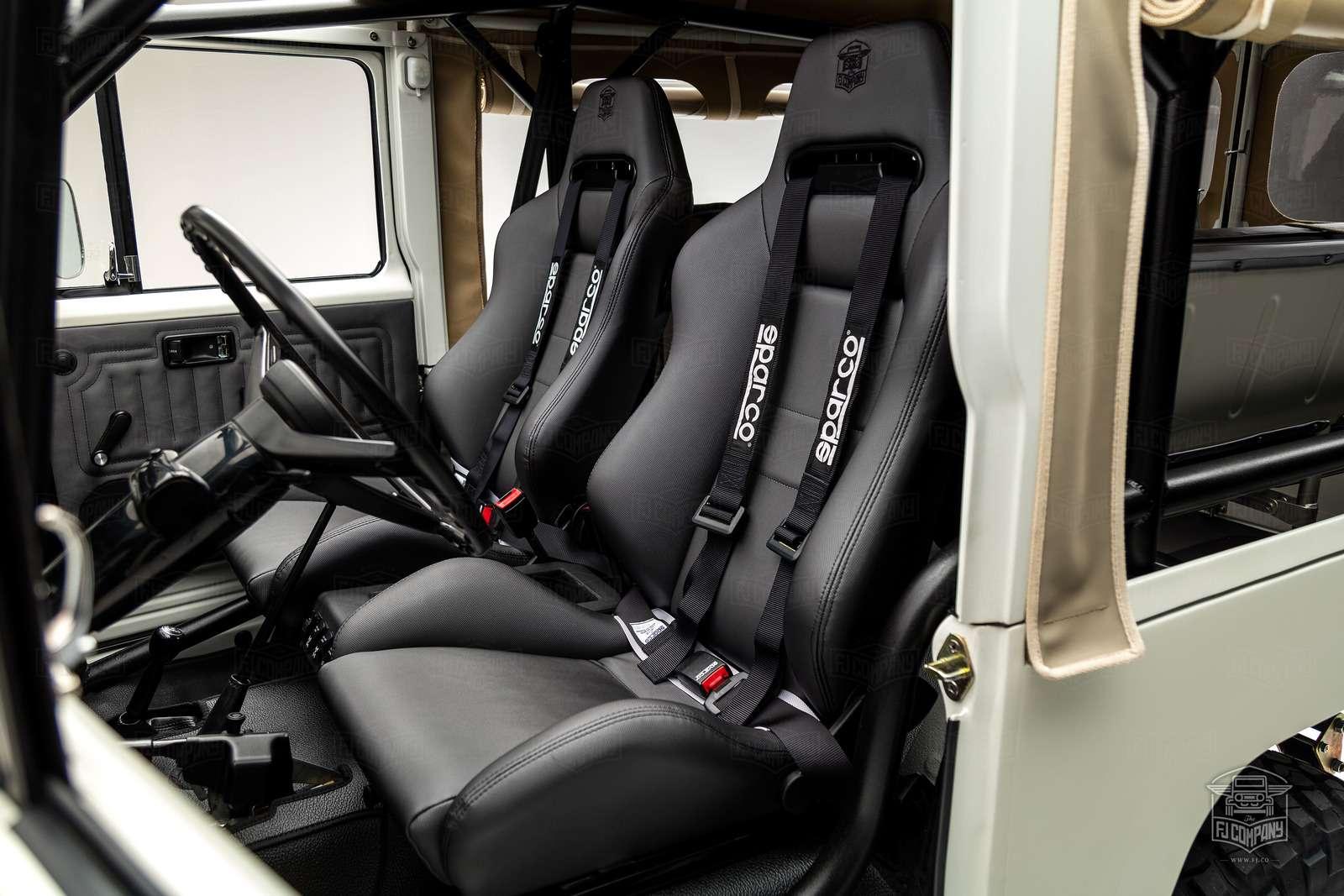 Допинг дляветерана: вЛас-Вегасе показали уникальный Toyota FJ43