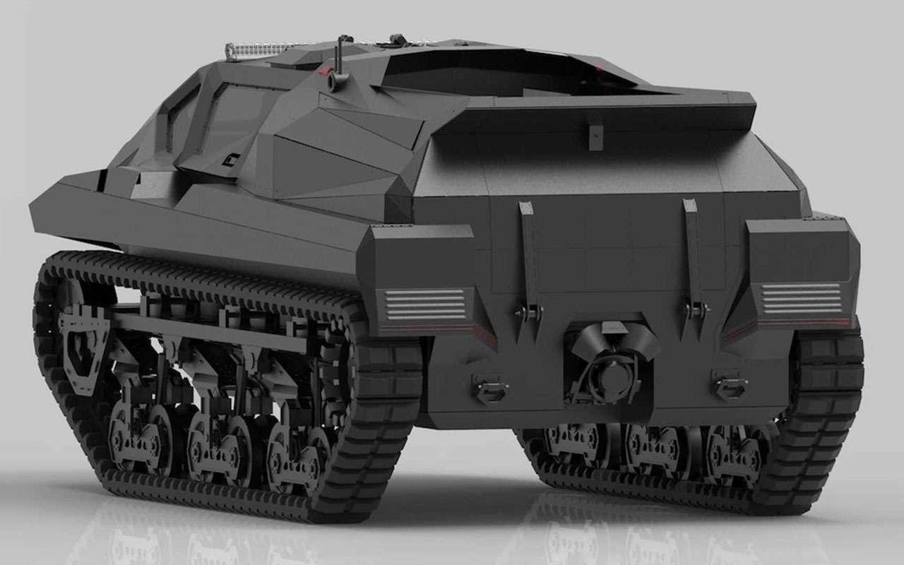 Storm— зловещий танк-амфибия изУкраины— фото 1228336