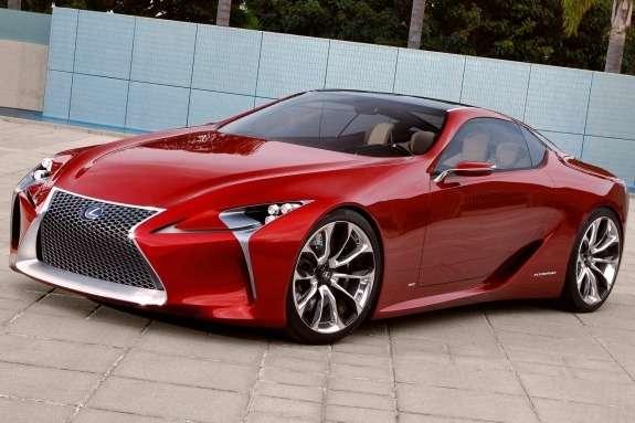 Lexus LF-LC Concept side-front view