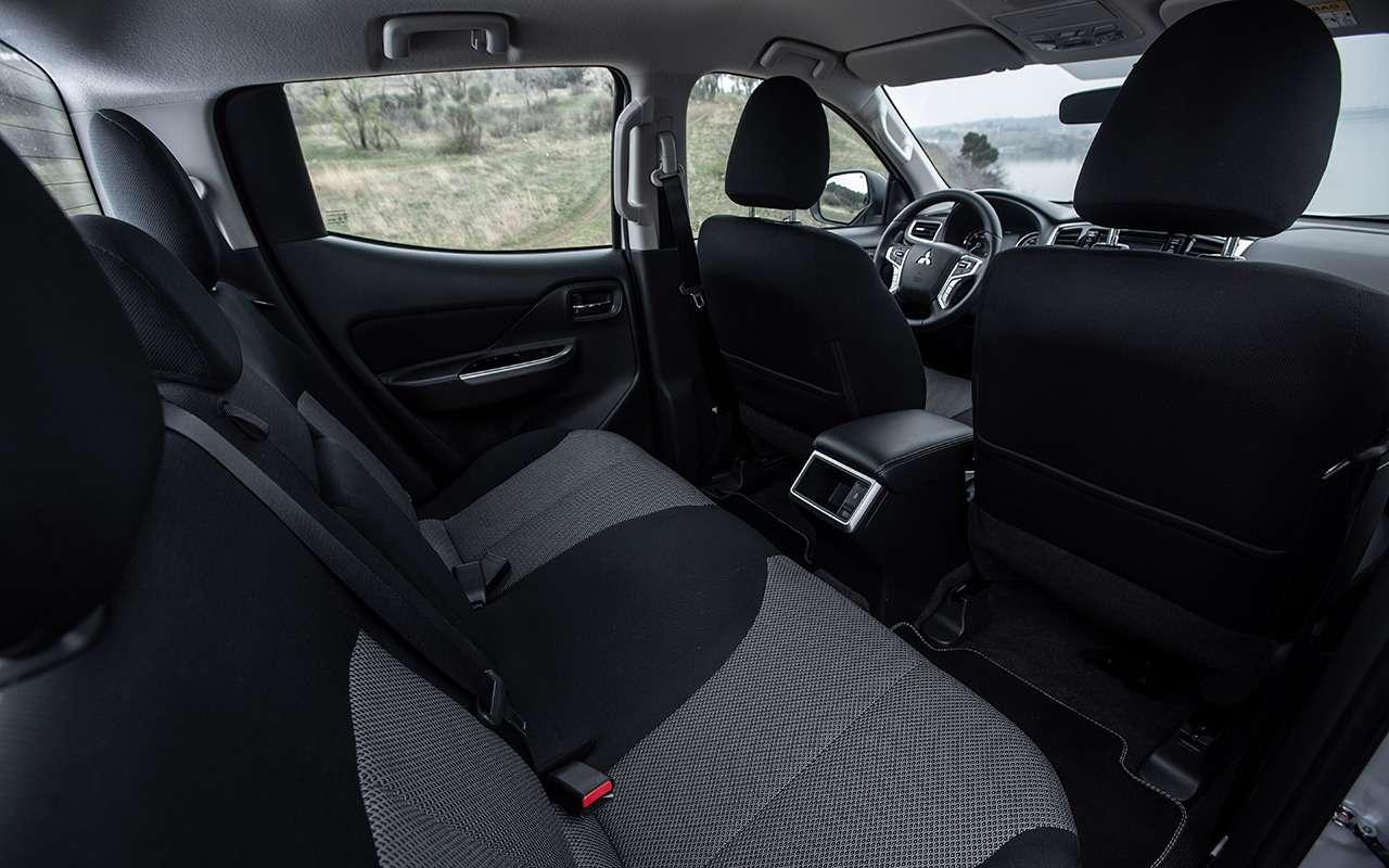 Попробуй забуксуй: тест обновленного Mitsubishi L200— фото 968547
