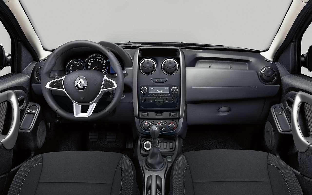 Renault Duster 2019: чем оннас удивит— фото 951207