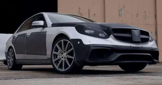 Mercedes-Benz E63AMG preproduction model_no_copyright