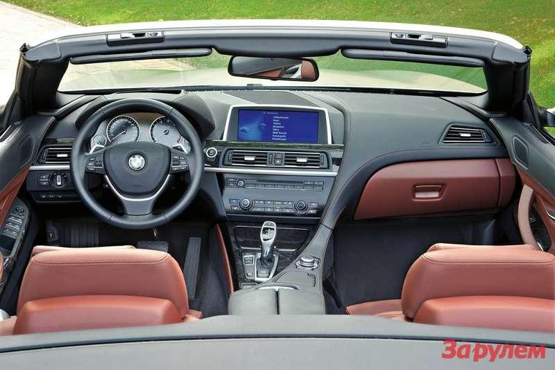 Thenew BMW 6Series Convertible— Interior