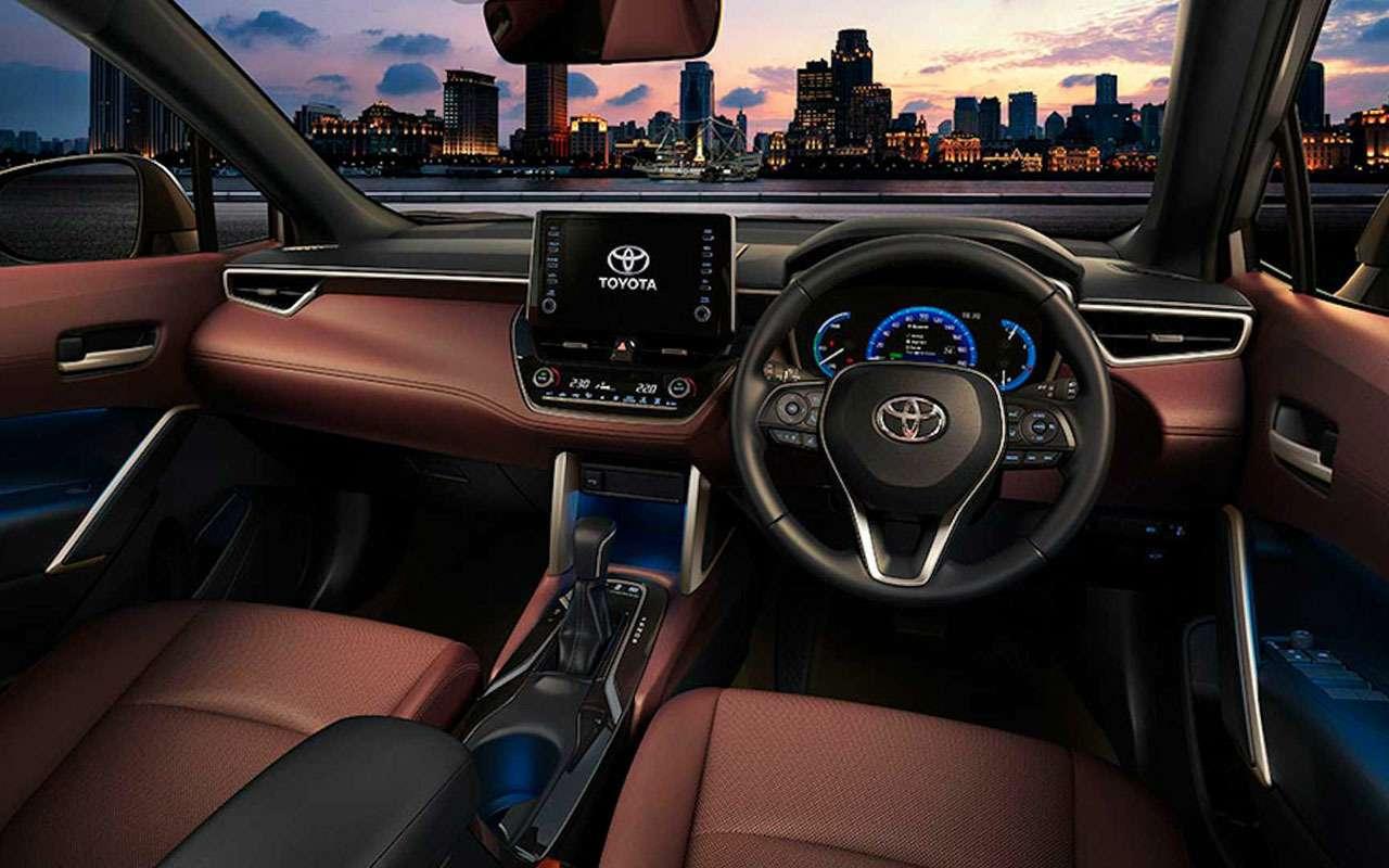 Toyota представила новый кроссовер— Corolla Cross— фото 1144074