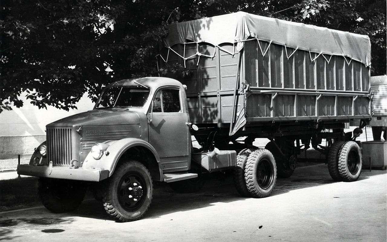 Самый популярный грузовик СССР— такого ГАЗ-51вы невидели— фото 961761