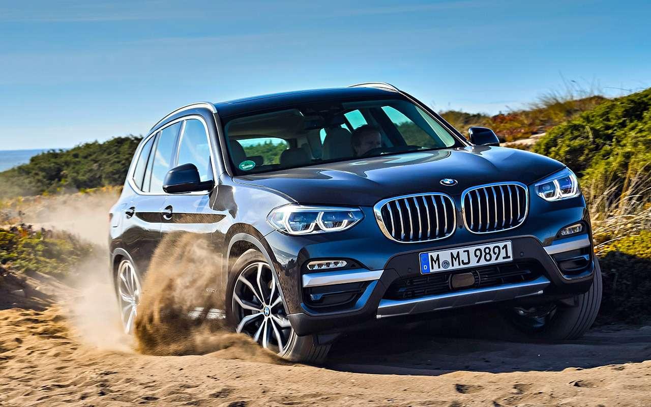 Новый BMW X3— тест первого кроссовера наплатформе CLAR— фото 826091