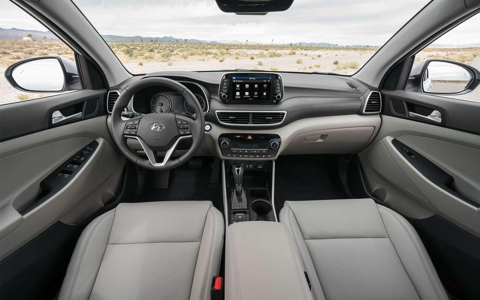 Hyundai Tucson пережил обновление. Итам сплошная «косметика»— фото 857931