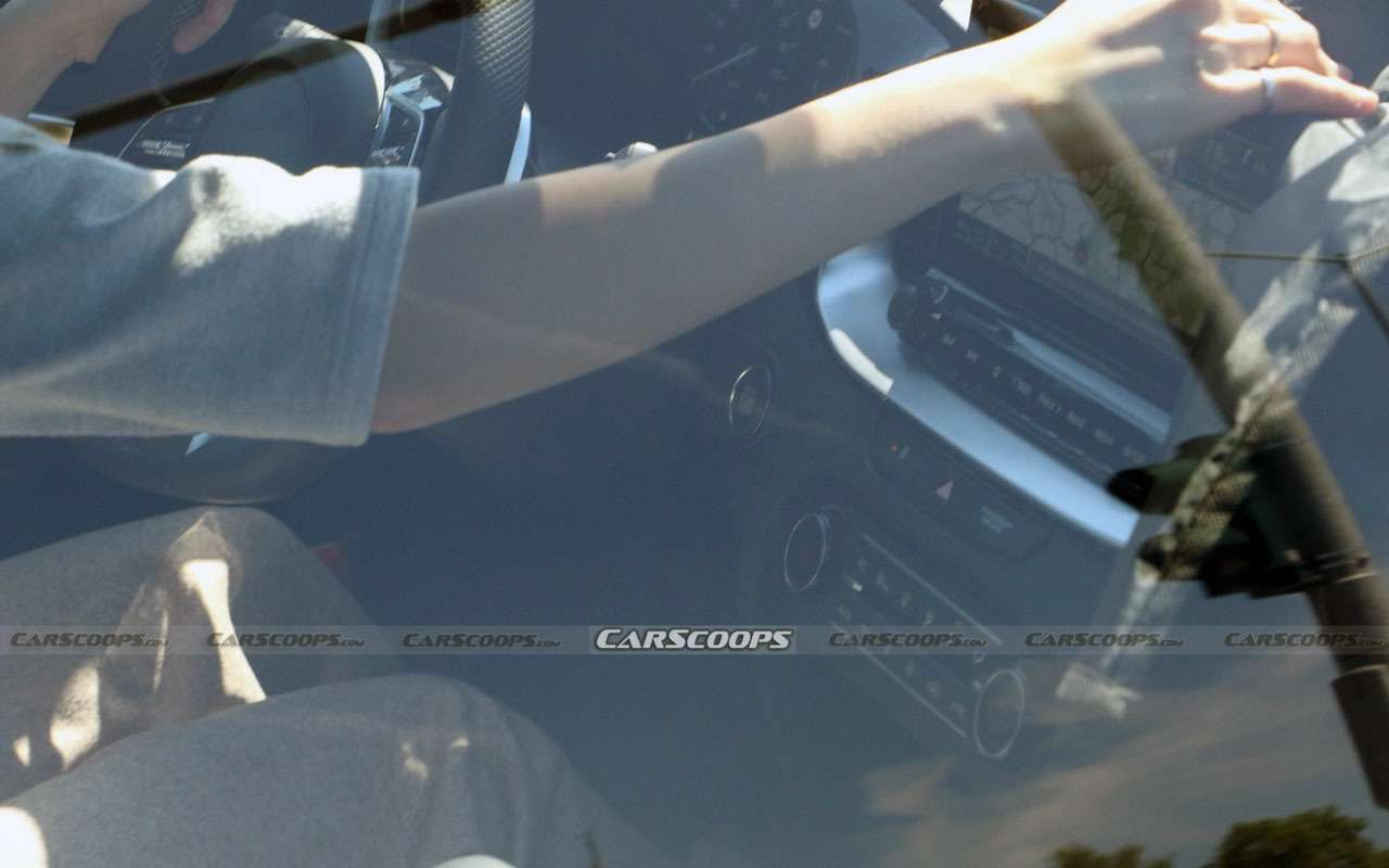 Обновленный Kia ProCeed— первое фото салона— фото 1252212