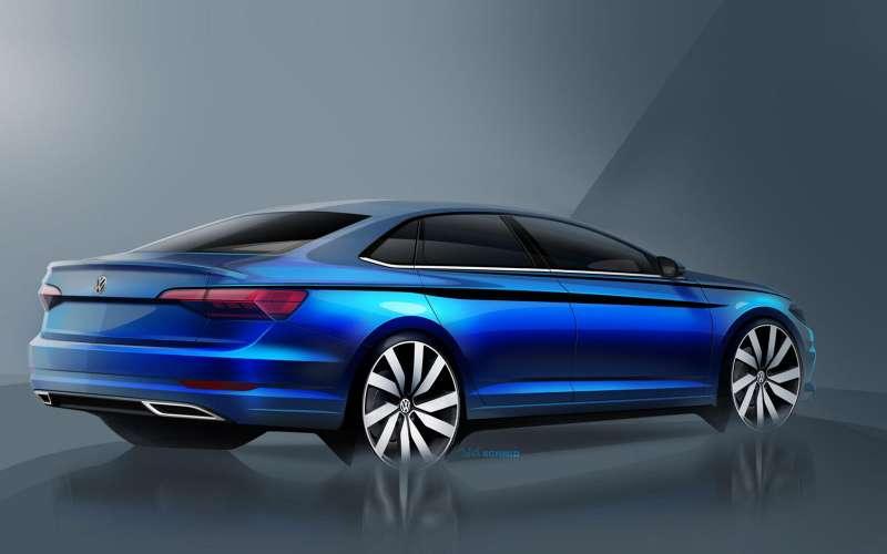 Новый Volkswagen Jetta: рассекречены дизайн иинтерьер