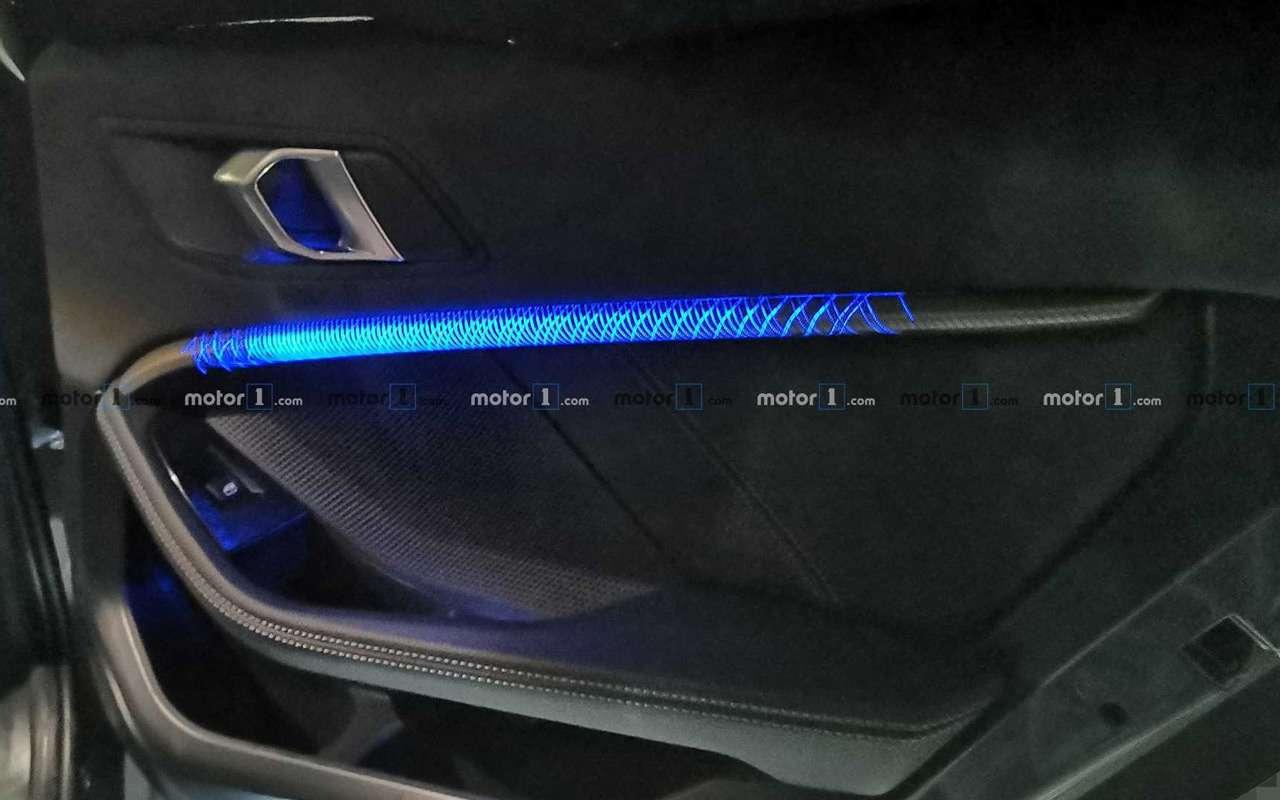 Новый BMW 1-й серии получит салон от3-й серии— фото 949426