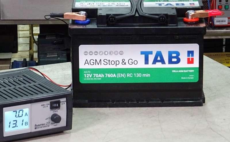 Каким напряжением надо заряжать старт-стопную батарею?— фото 1007719