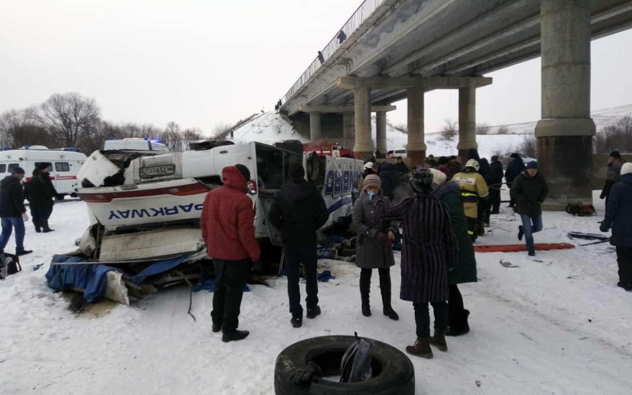 19человек погибли вупавшем смоста автобусе— фото 1013524