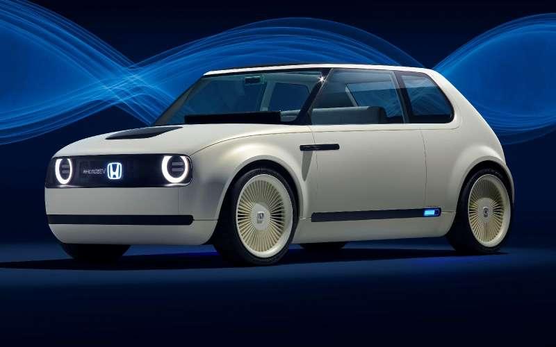 Honda показала хэтчбек будущего сдизайном изпрошлого