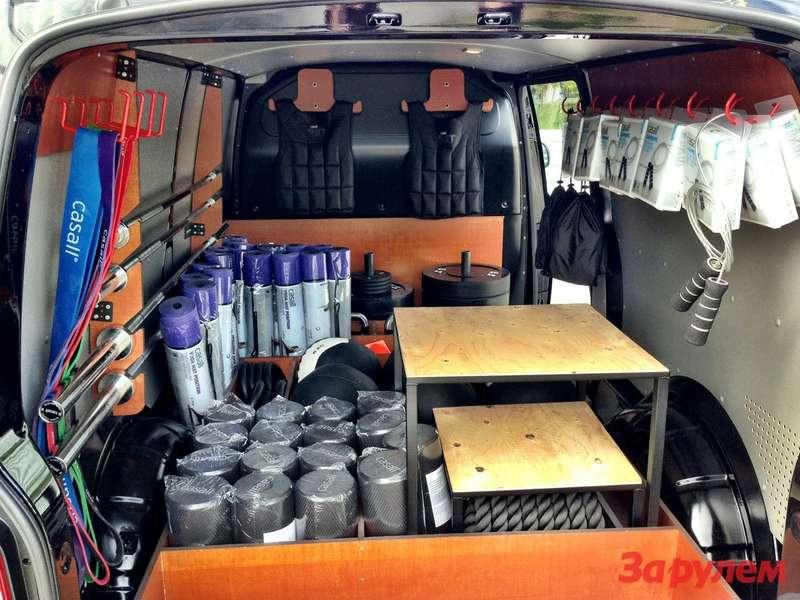 Volkswagen Transporter Workout Delivery (2)