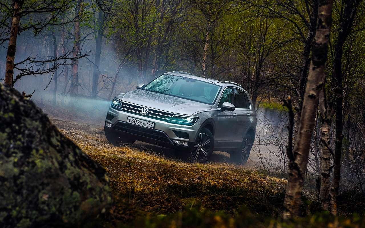 Volkswagen Tiguan— самый суровый тест— фото 893670