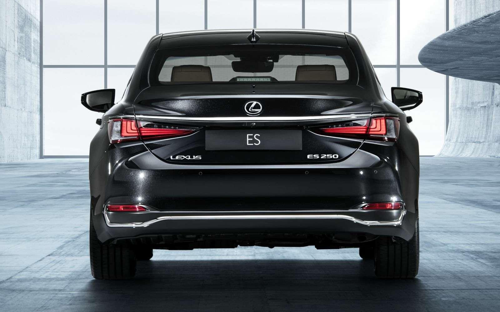 Новый Lexus ES: без полного привода итурбомоторов— фото 865654