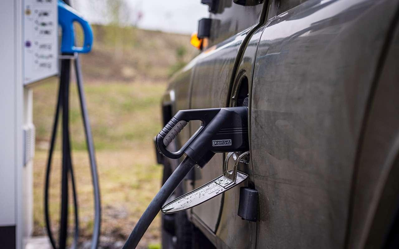 В Европе стартовали продажи электрического UAZ Hunter— фото 1267374