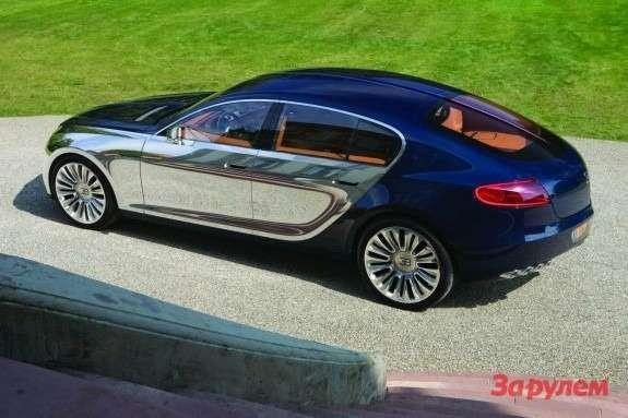Bugatti Galibier side-rear view