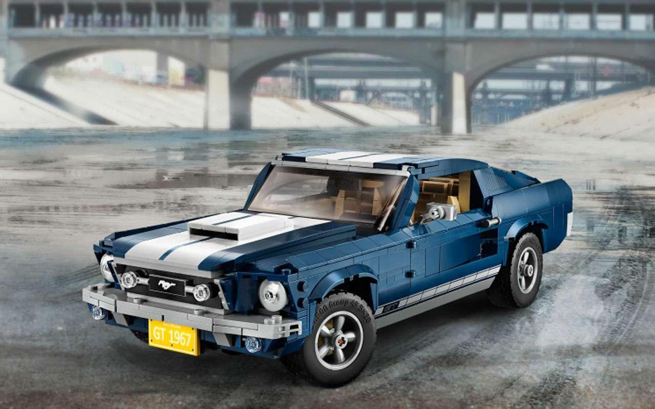 7 потрясающих машин LEGO— отличный подарок— фото 1208306
