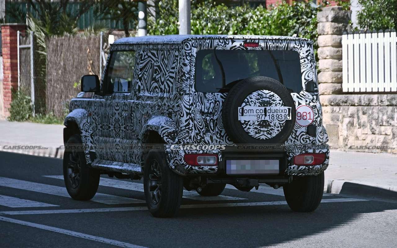 Натестах Jimny Long: пятидверка, пикап или фургон?— фото 1231633