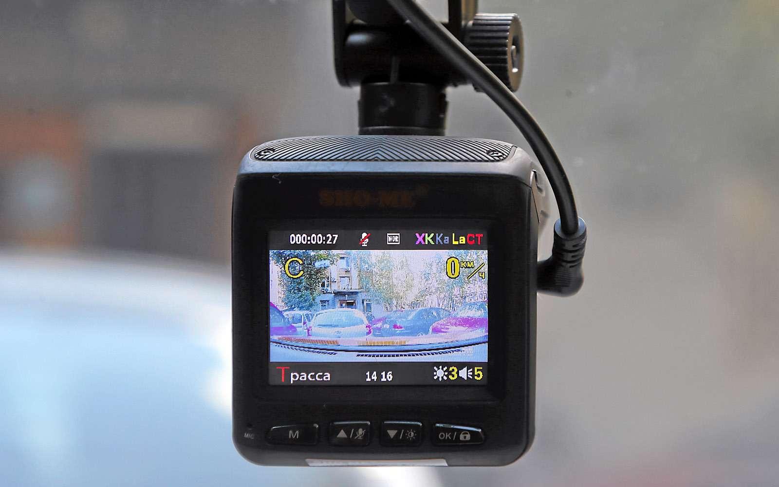 Видеорегистраторы срадар-детектором—  тест 7моделей— фото 651739