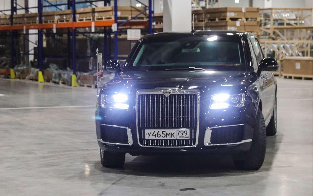 Путин открыл российский завод Mercedes-Benz— фото 963043