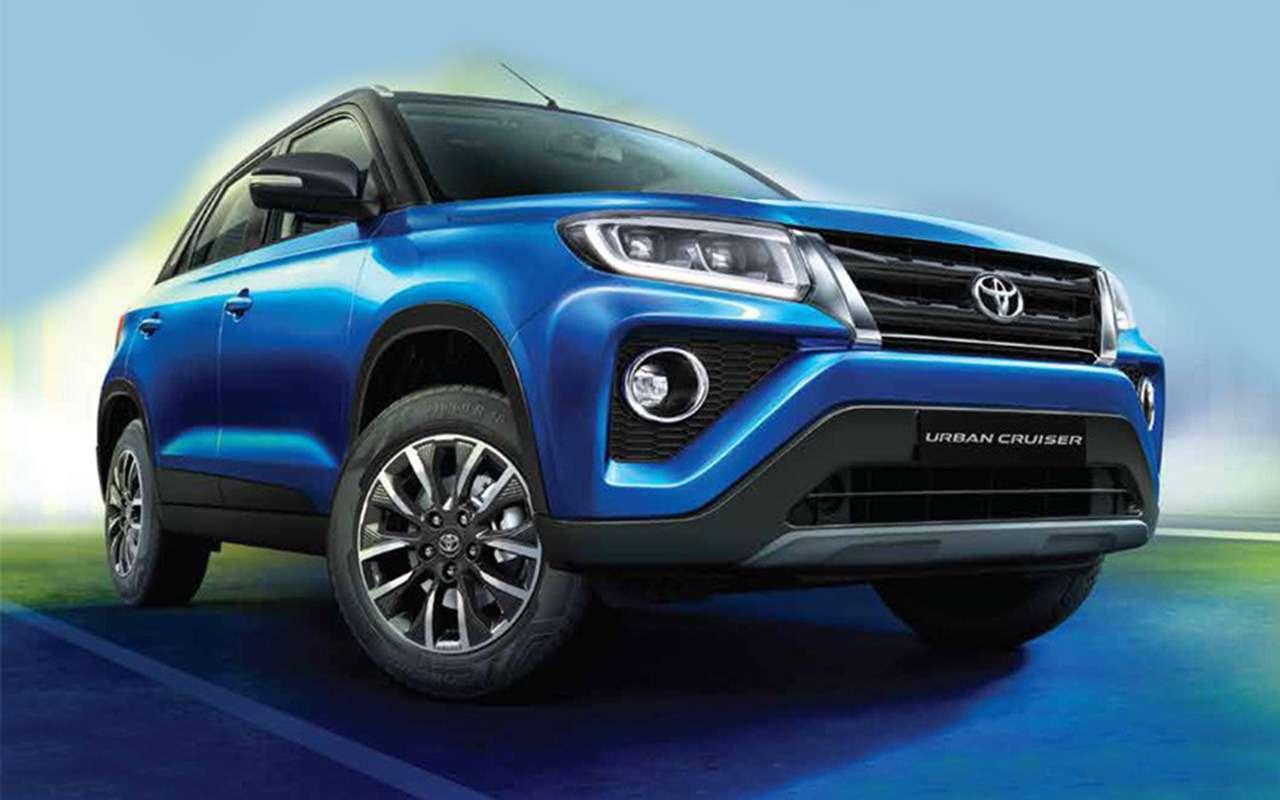 Новый кроссовер Toyota: набазе Suzuki!— фото 1161621