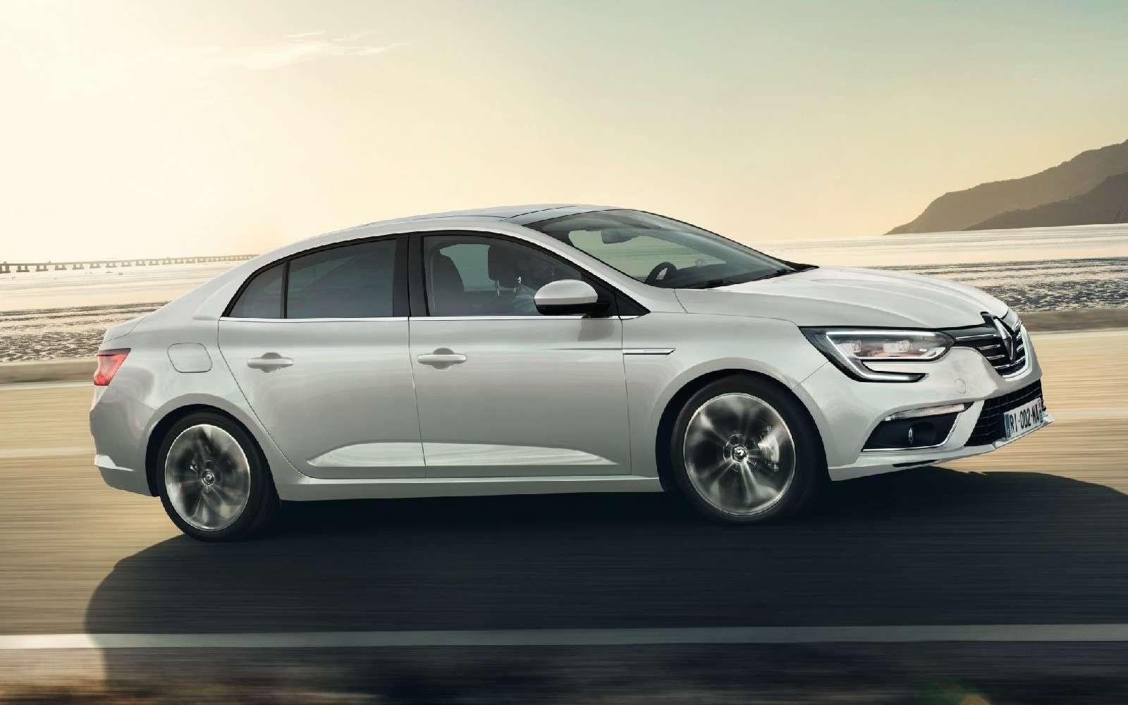 ИзТурции слюбовью: представлен новый седан Renault Megane— фото 607510