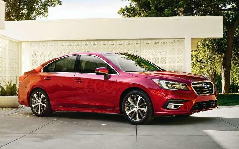 Наследие Америки: Subaru обновила седан Legacy