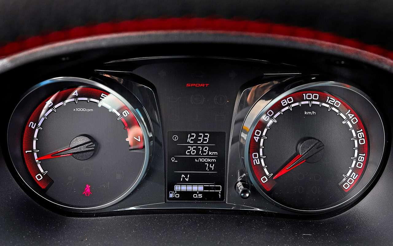 Самая дорогая (исамая быстрая) Lada Granta: тест-драйв свидео— фото 1126032