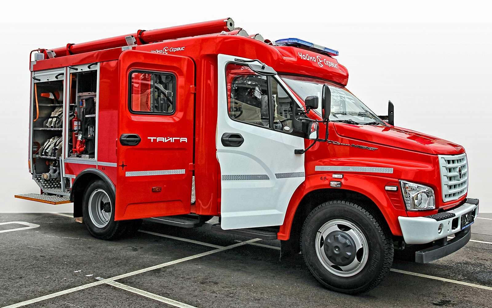 ГАЗон Next АЦ‑1,0-40/4: навсякий пожарный— фото 634442