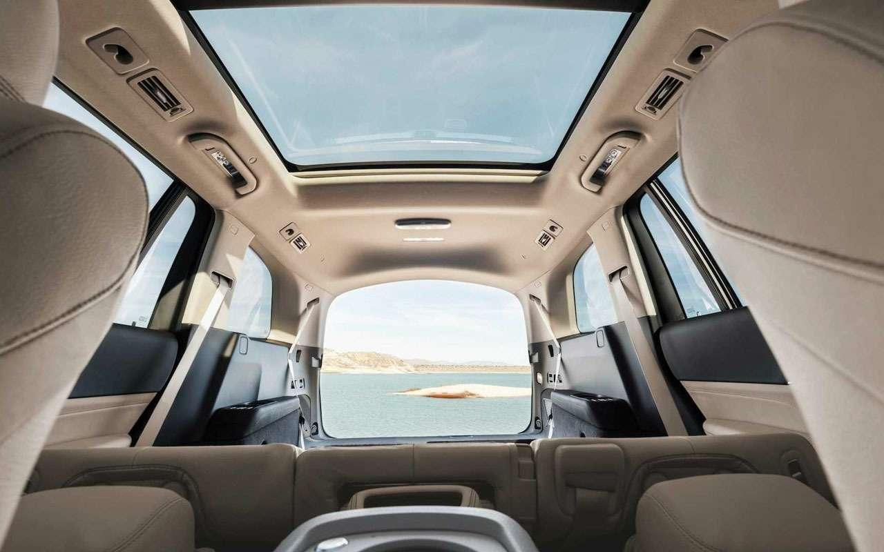 Новый Mercedes-Benz GLS: салон на7, двигатель на8— фото 967452