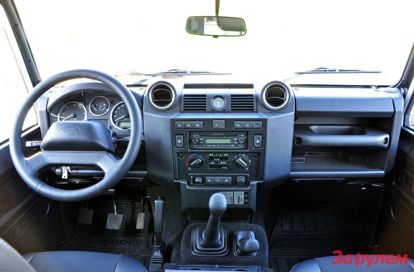 Интерьер Land Rover Defender 90