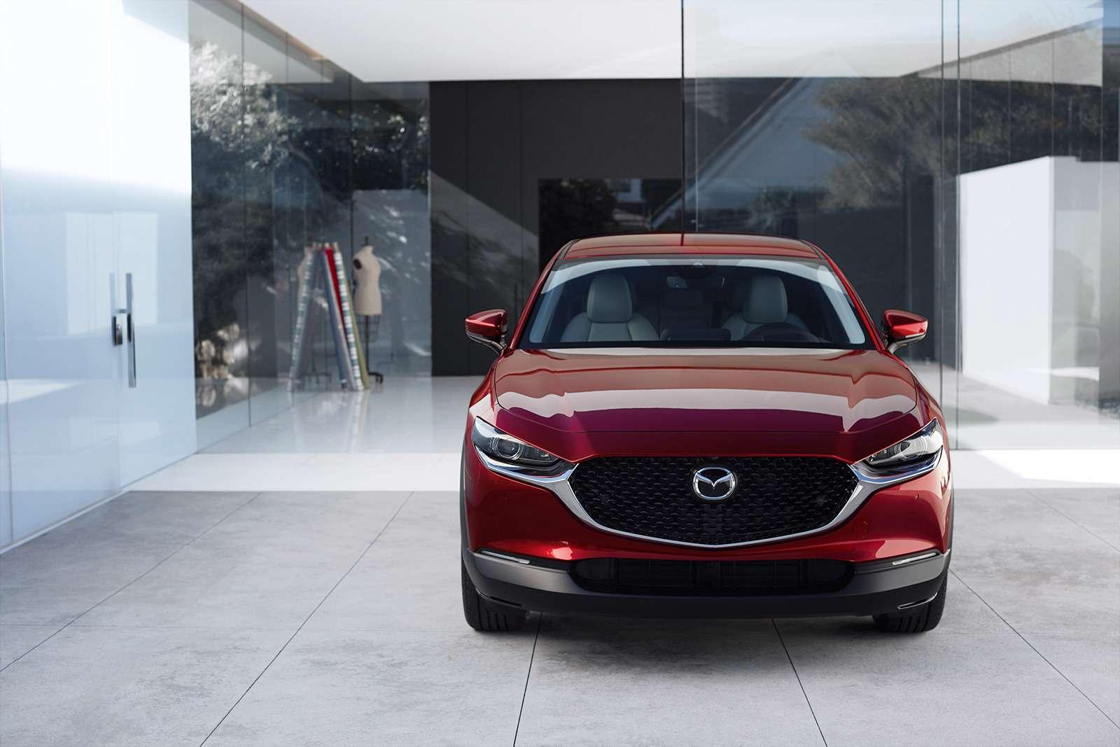 Mazda показала новый кроссовер— ждем его вРоссии— фото 954635