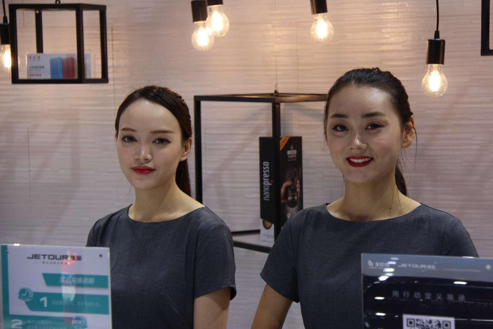 Девушки Пекинского автосалона— 2018— фото 865612