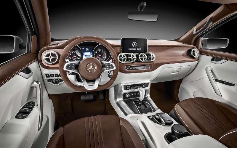 Mercedes-Benz X-класса: издеревенщины вофранты