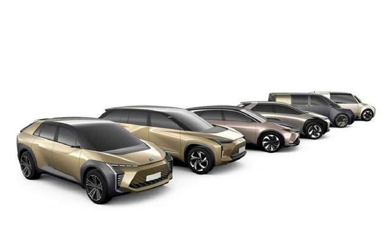 Первые изображения новых кроссоверов Toyota— фото 1141521