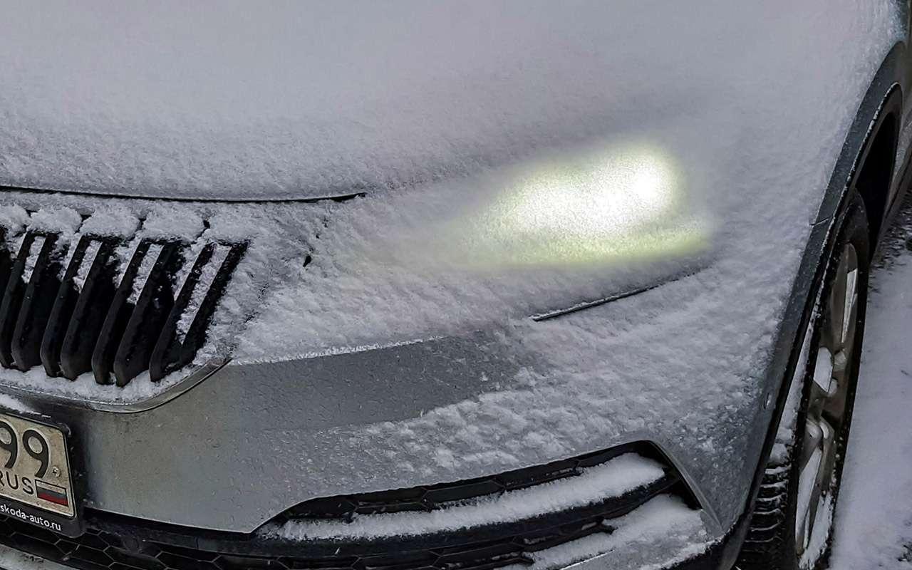 Skoda Karoq российской сборки зимой— есть нюансы— фото 1214407