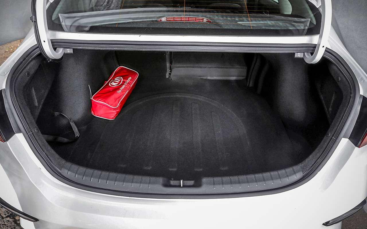 VWJetta, Kia Cerato, Mazda 3— тест-сравнение— фото 1156434